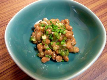 ノビル納豆
