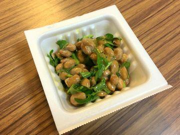 クレソン納豆