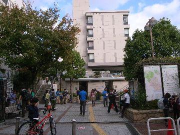 阪急芦屋川駅前