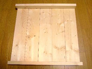 棚板を組む