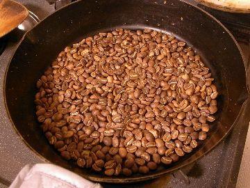 15分煎った豆