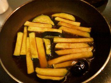 かぼちゃの炒め煮1