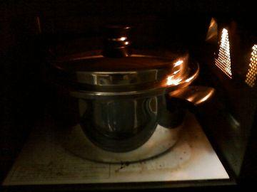 オーブンで40度