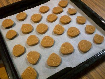 ぬかクッキー焼く前