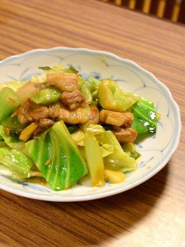 超本格的な回鍋肉(ホイコーロー)