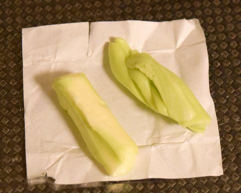 ハイチュウ青リンゴ味を分解