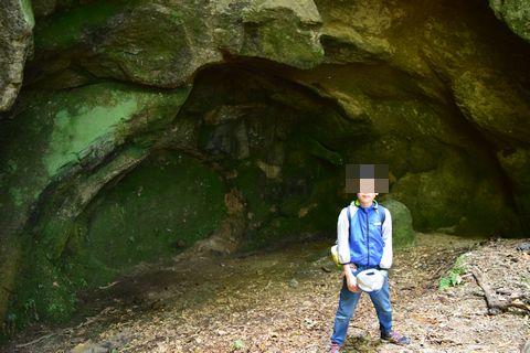 花崗岩のタマネギ状節理