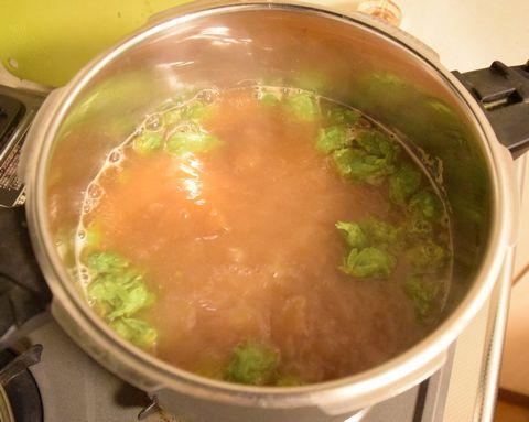 煮沸を続ける