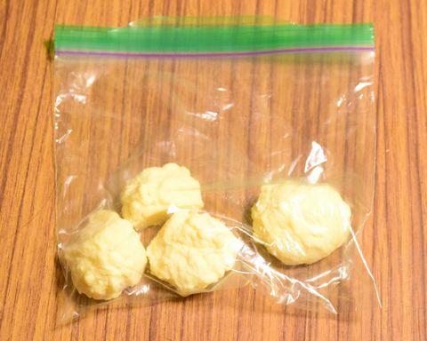 最初に仕込んだチーズ