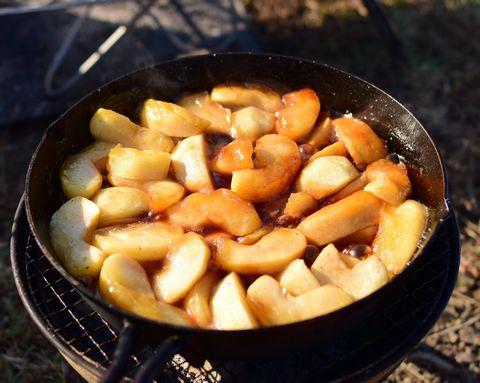 煮詰まったリンゴ