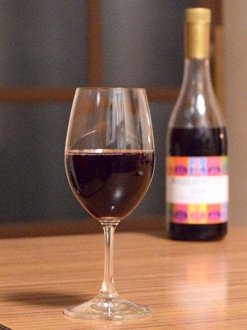赤ワイン試飲