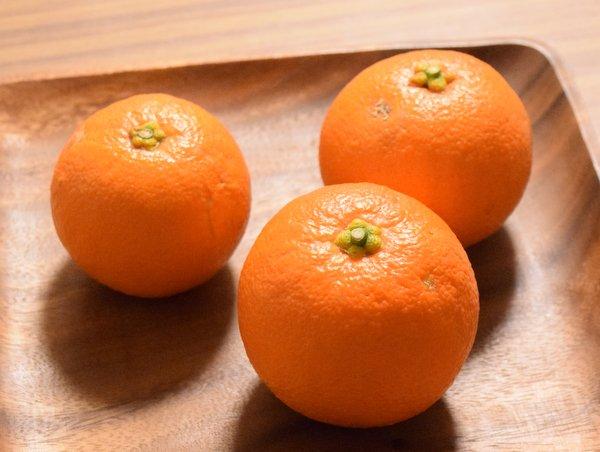 いただいた橙
