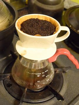 アイスコーヒーを淹れる