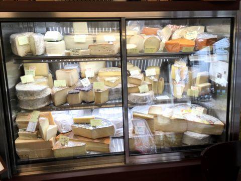 ハードタイプのチーズがぎっしり