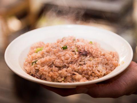 ホタルイカの炒飯