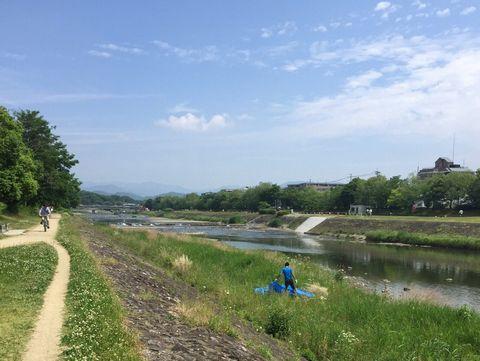 京都の鴨川