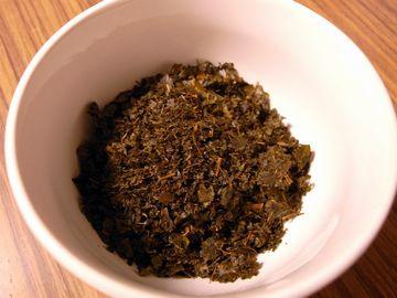 発酵した葉