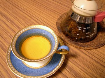 桜の葉の紅茶