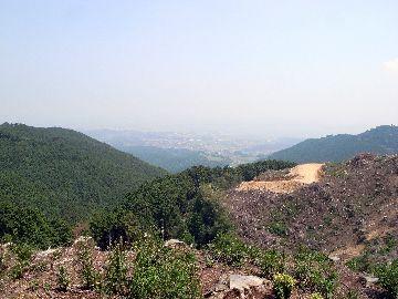仰木峠からの展望