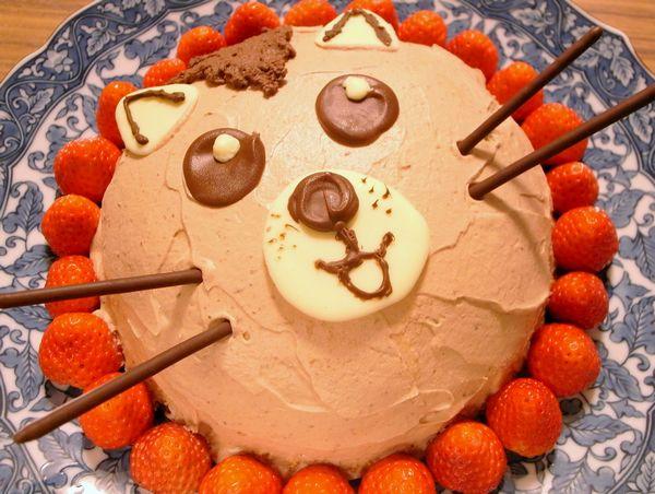 ハムスターのケーキ