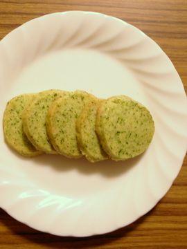 ヘラオオバコのクッキー