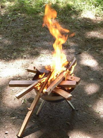 さらに激しく燃やす