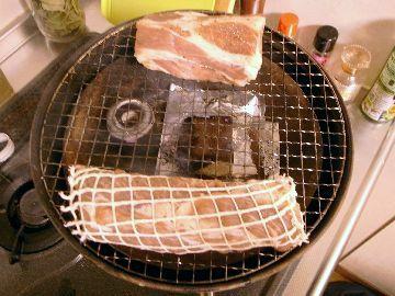 50~60℃で燻製