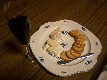 ワインと一緒に試食