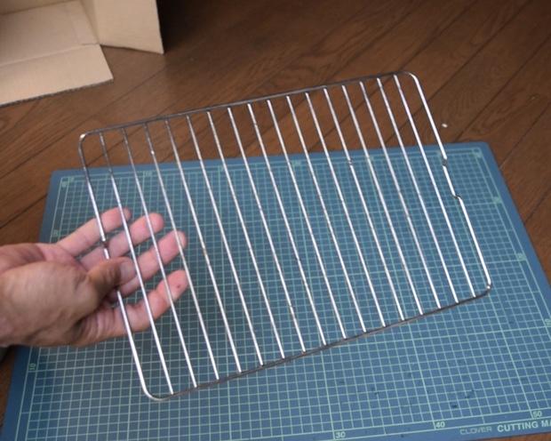 魚焼きグリルの焼き網