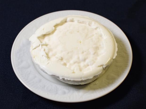 裏返したチーズ