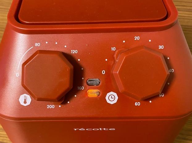 レコルトエアーオーブン190℃で10分
