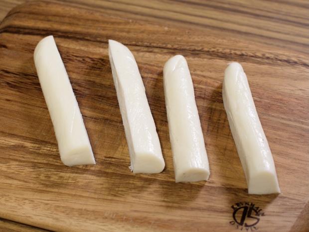 手作りストリングチーズ