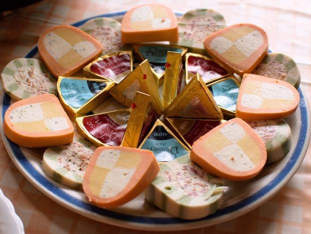 テリーヌとチーズ
