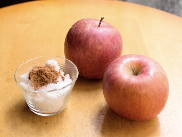 アップルシナモンプレザーブの材料