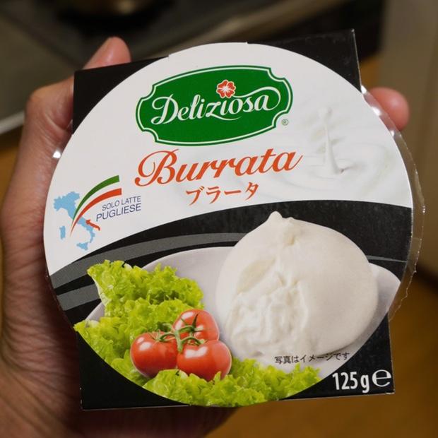 イタリア産ブラータチーズ