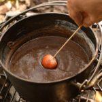 いちごのいちごのチョコレートフォンデュ