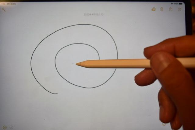アップルペンシルで試し書き