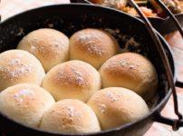炭火で焼いたちぎりパン