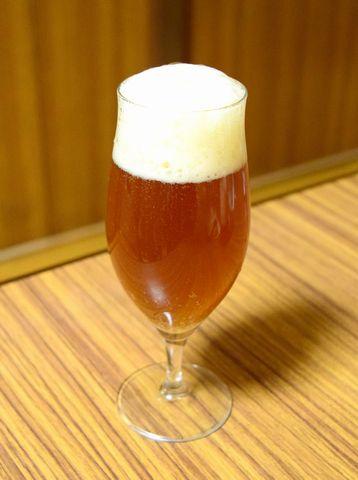 麦芽から作った自家製ビール