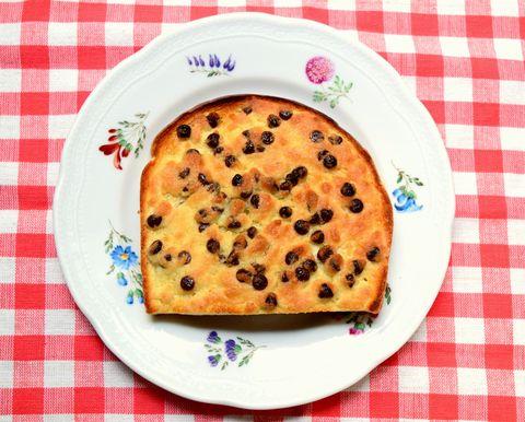 チョコチップメロンパントースト