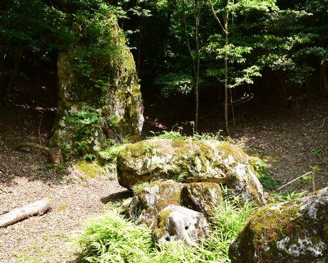 大理石の露頭