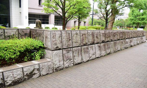 京都地方裁判所の石垣