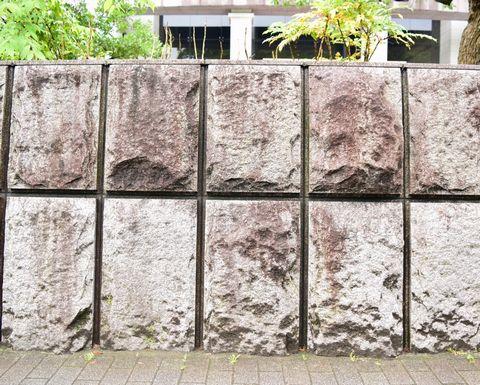 京都地方裁判所の石垣拡大