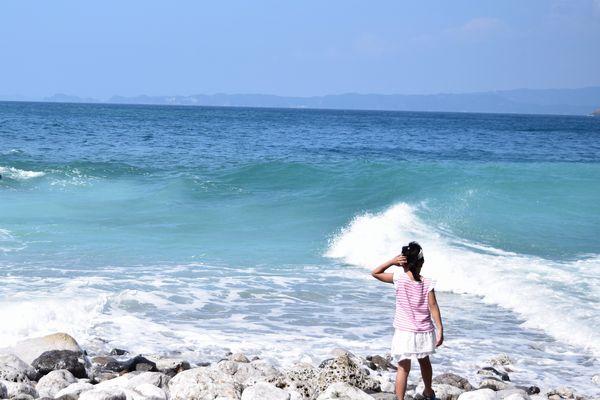 白崎海洋公園の海