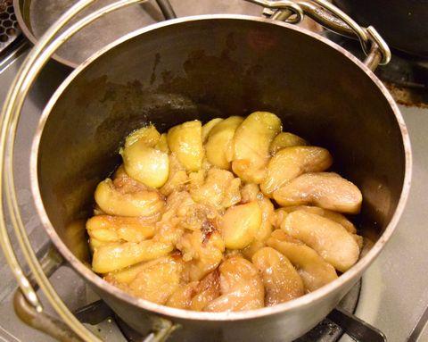 3時間煮込んだりんご