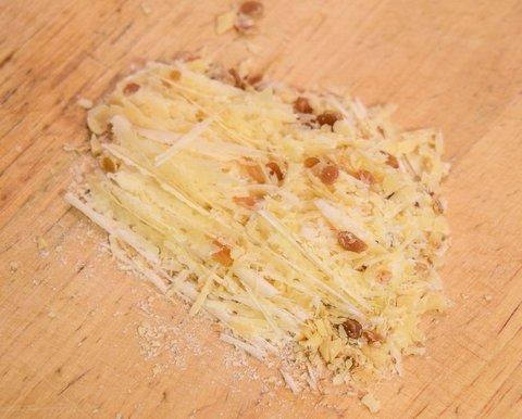 細かく切った納豆熟成チーズ