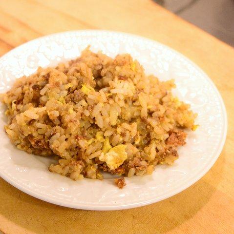 醤油粕炒飯