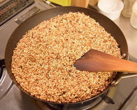 炒った玄米