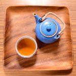 ドクダミ茶を喫する