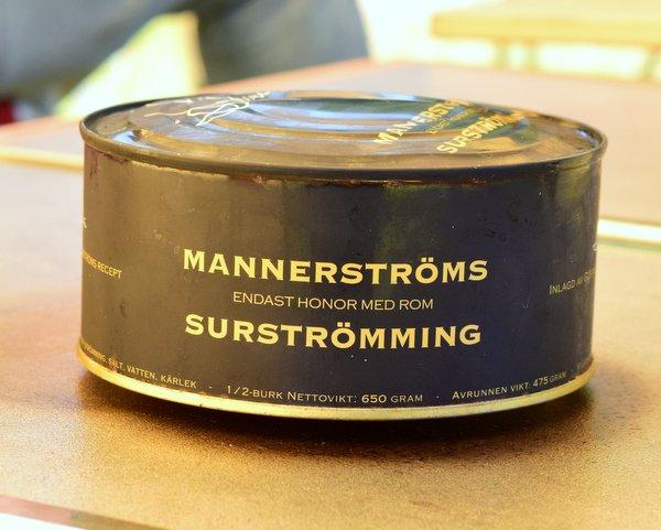 マンネルストロム シュールストレミング 缶が膨らんでいる